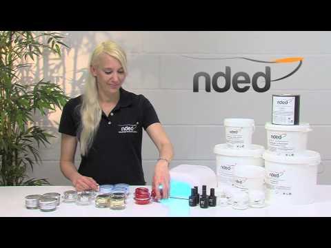 UV Gel & Nagelgel Produkt-Video vom UV Gel Hersteller Nded.de