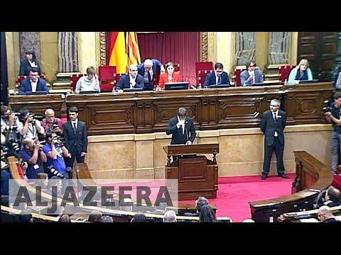 Spain prepares to suspend Catalonia's autonomy over secession bid