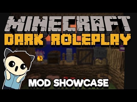 Dark Roleplay Mod | Minecraft Mod Showcase | Spice Up Your Suvival Role-Playing Game!