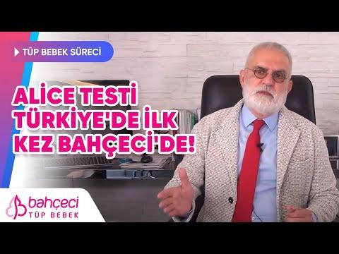Alice Testi Türkiye'de İlk Kez Bahçeci'de – Prof. Dr. Mustafa Bahçeci