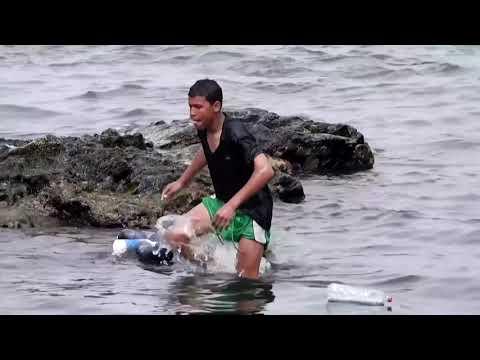 Migrant boy swims to Spain's Ceuta