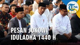 Pesan Idul Adha 1440 Presiden Jokowi