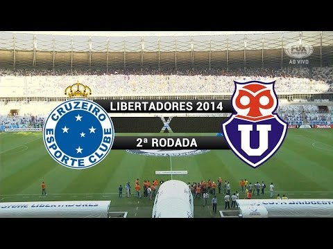 Gols - Cruzeiro 5 X 1 Universidad De Chile (CHI) - Libertadores 2014 - 25/02/2014 Mp3