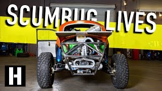 Scumbug Gets Fired Up! Fresh Racing Engine for our Craigslist Baja Bug