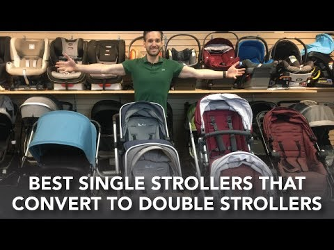Single Strollers that Convert to Double Strollers | Vista, Donkey, City Select Lux, Wave