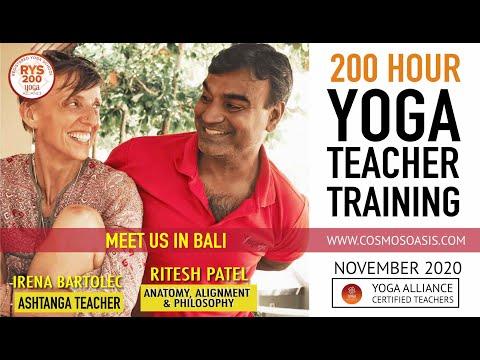 200 HRS YOGA TEACHER TRAINING COURSE ... - YouTube