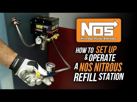 How to Set Up and Operate an NOS Nitrous Refill Pump Station