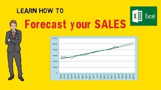Sales Forecasting Methods - Prediction! (Hindi) Excel Turtorial - Value Learnings