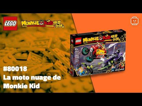 Vidéo LEGO Monkie Kid 80018 : La moto nuage de Monkie Kid