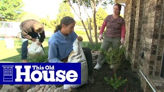 How to Plant a Flower Bed in Clay Soil   This Old House