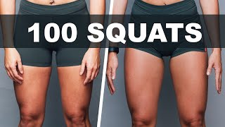 We Did 100 Squats Every Day For 30 Days