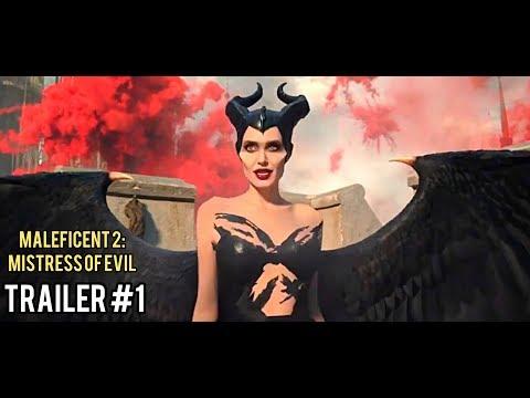 Малефисента 2: Владычица Тьмы / Maleficent 2: Mistress of Evil   Трейлер #1 (2019) Анджелина Джоли