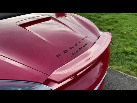 Porsche Boxster GTS 3.4 PDK Video