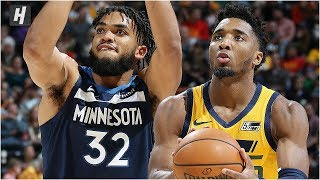 Minnesota Timberwolves vs Utah Jazz - Full Game Highlights | November 18, 2019 | 2019-20 NBA Season