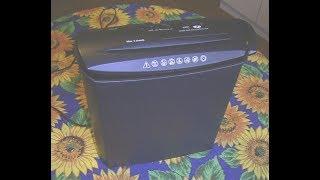 Funktionsprüfung   Aktenvernichter Genie 245 CD, Functional check Paper shredder
