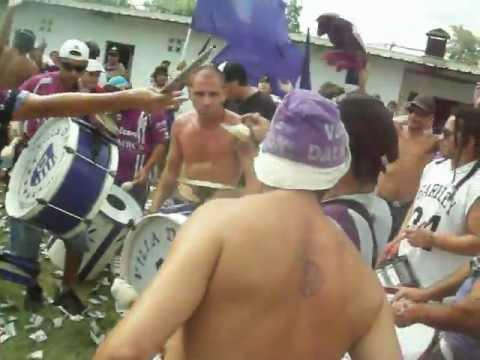 """""""Hinchada de Villa Dalmine - (La banda de Campana)"""" Barra: La Banda de Campana • Club: Villa Dálmine"""