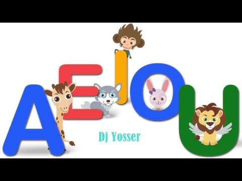 Dj Yosser - Las Vocales A E I O U  Educación Infantil