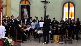 preview picture of video 'CORO POLIFONICO DE VILLARRICA - LUMINE ANTICQUA - TEDEUM LAUDAMUS - ZIPOLI'