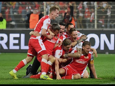 Union Berlin reach Bundesliga for the first time; VfB Stuttgart relegated | Incredible scnenes