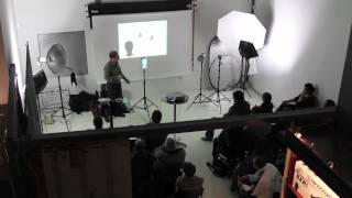 preview picture of video 'Robert Miller presents Fundamentals Of Lighting at Studio22'