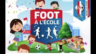 """Opération « Foot à l'Ecole » : """"Productions statiques"""""""
