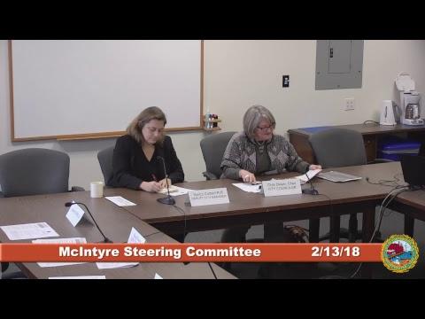 McIntyre Steering Committee 2.13.2018