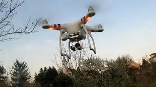 Dji phantom 3 standard drón üzembe helyezés lépésről lepésre-drón teszt