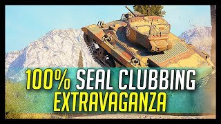 ► 100% Seal Clubbing Extravaganza! - World of Tanks 1.0 Special Event