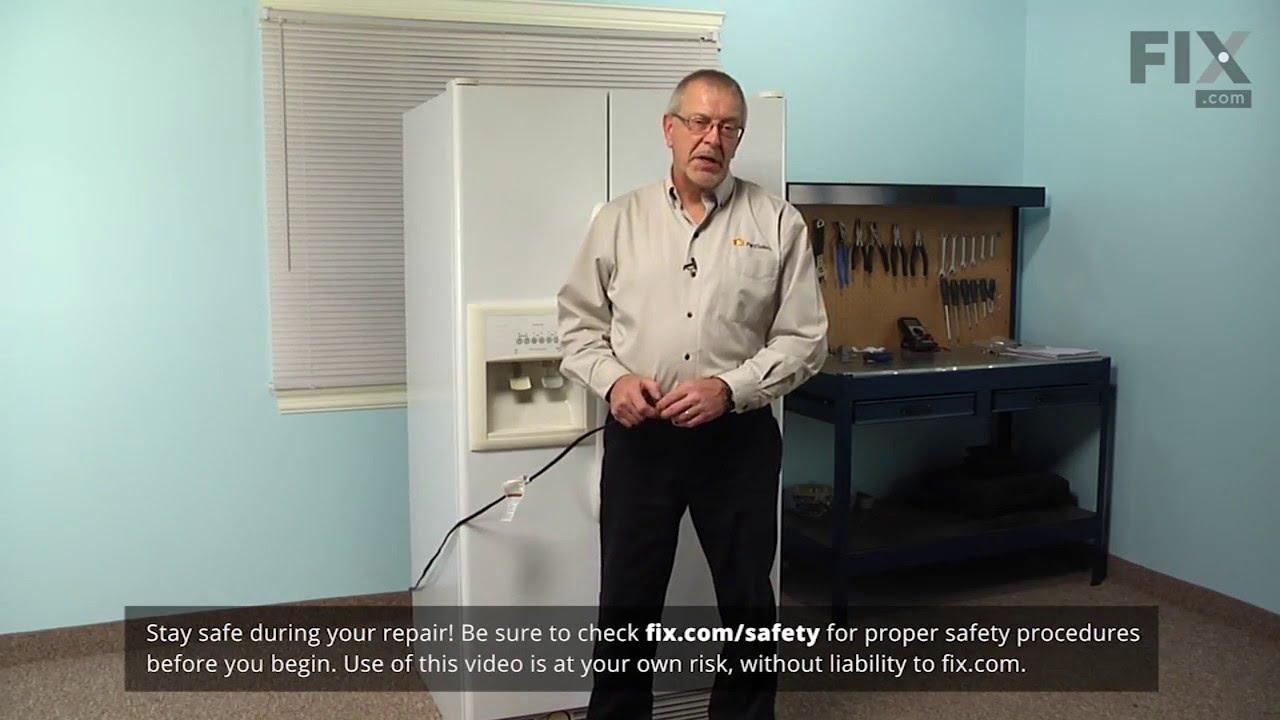 Replacing your Whirlpool Refrigerator Compressor Start Relay