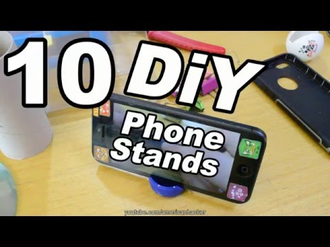 10 DIY Stands For Smartphones