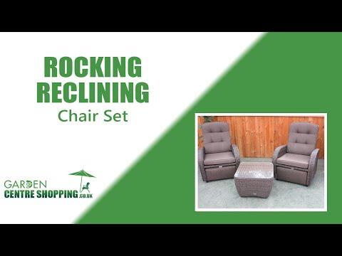 Rocking Reclining Furniture Set Demo - Premium Rattan Furniture!