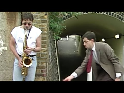 Street Performing   Mr. Bean Official