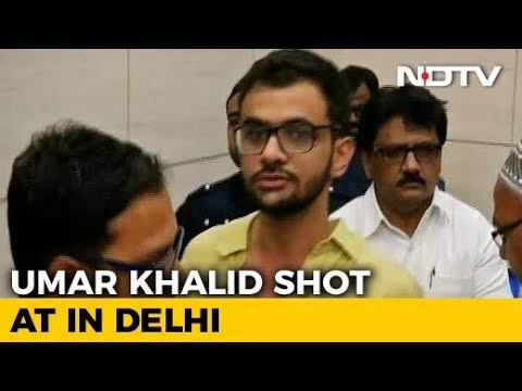 JNU Student Umar Khalid Shot At In High-Security Zone In Delhi, Unhurt