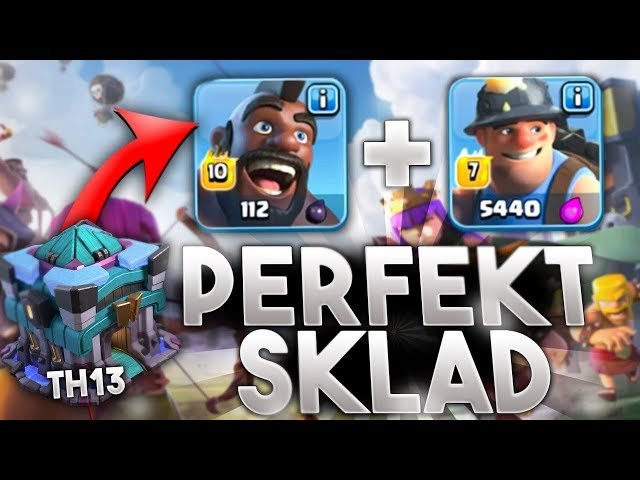 MEGA MOCNA STRATEGIA TH13 💥ATAK LIVE 💥 CLASH OF CLANS POLSKA