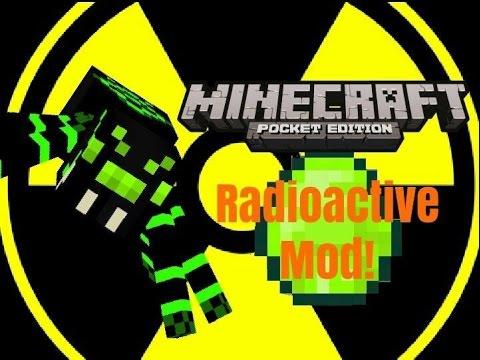 Minecraft PE Mod: Radioactive Mod!