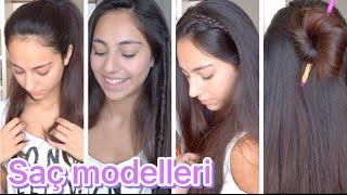 Okul İçin Saç Modelleri | 2016