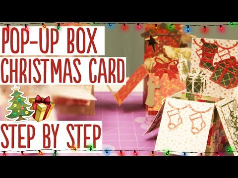 How to Make a Pop-up Box Christmas Card