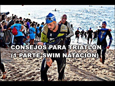 CONSEJOS PARA TRIATLÓN (1 PARTE SWIM NATACIÓN)