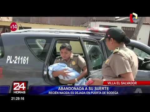 Recién nacida fue abandonada en una  calle de Villa El Salvador