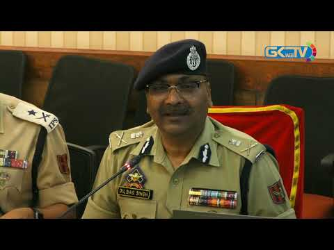 DGP Dilbag Singh launches new website of Kashmir Police