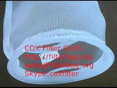 bolsa poliéster filtro, filtro mangas poliéster, filtro bolsa PE, PE bolsa filtro, filtro bolsa PES