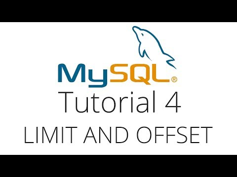 Mysql Tutorial 4 Limit Offset And Ordering