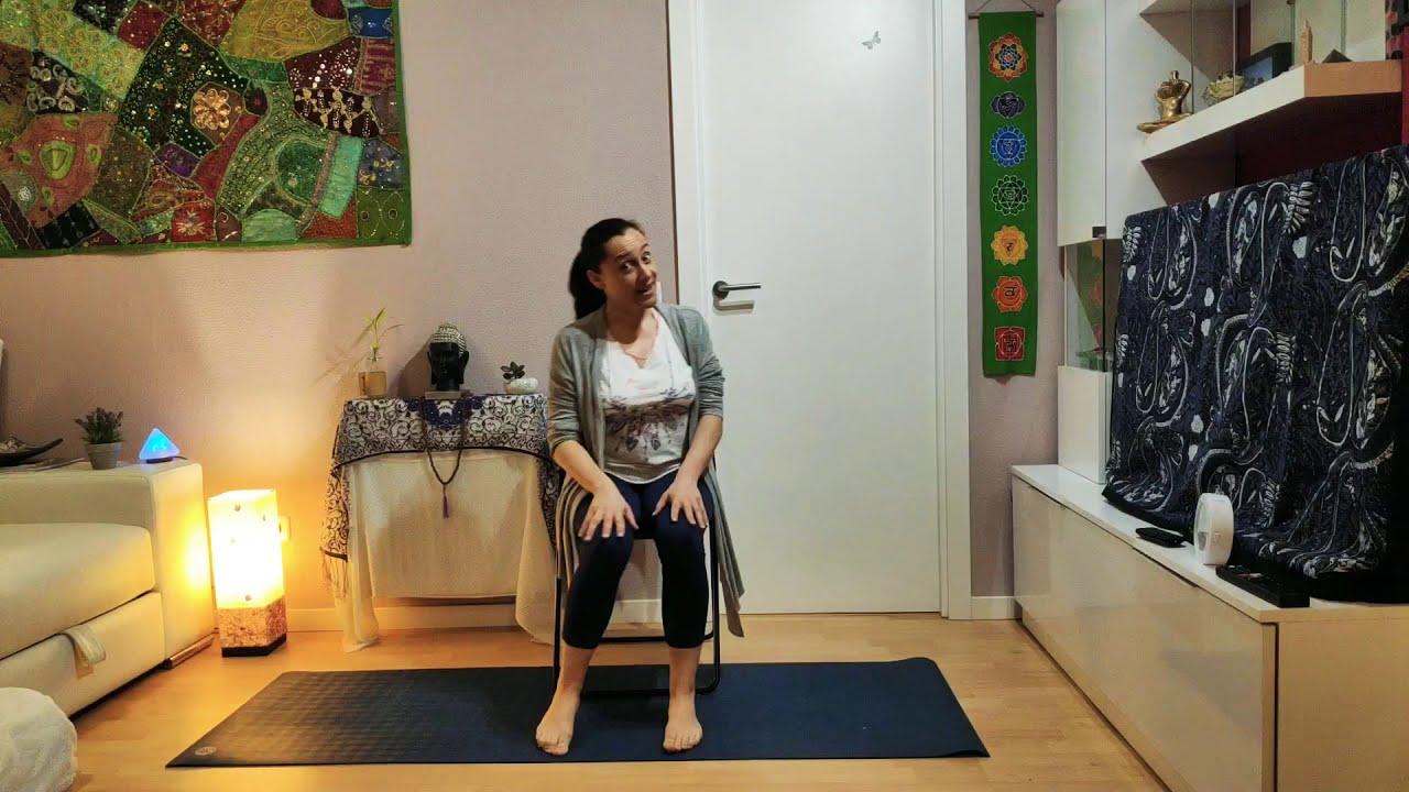 Yoga en Silla, profundiza en tu práctica