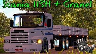 Euro Truck Simulator 2 - Scania 113H + Granel - Indo Carregar - Logitech G27