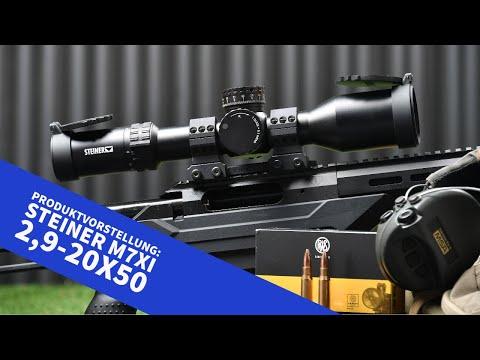 steiner-optik: Vorstellung und Video: Modellerweiterung bei Steiner – zwei Varianten des M7Xi 2,9-20x50 ergänzen die M-Reihe