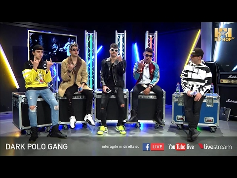 DARK POLO GANG LIVE SU HIP HOP TV 🔥💰📲