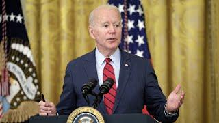 Stocks extend gains after Biden's infrastructure announcement