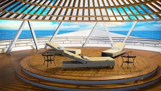 Ocean Waves Sleep Sounds Aboard Luxury Yacht | White Noise for Sleeping 10 Hours