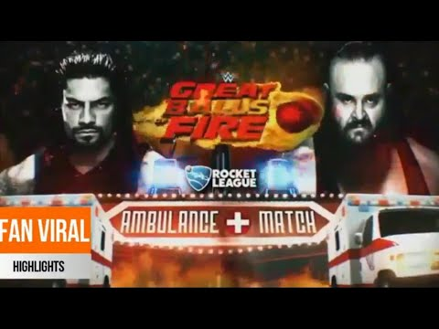 Brownstown vs Roman Reigns||WWE||AMBULANCE MATCH||WRESTLE EMPIRE