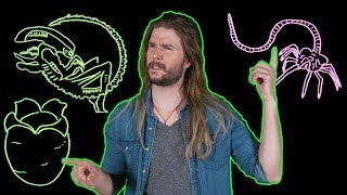 How Every Xenomorph Fits With Every ALIEN Film! (Because Science w/ Kyle Hill)